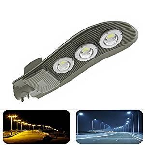 150W LED Street Light Waterproof IP65 Road Outdoor Yard Industrial Lamp (Color Warm White)