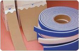 """RFoam-2 Strapping Material Blue, 2""""x 5 yd. (5cm x 4.6m). Sold in a bag. - Model A34951"""