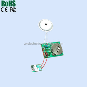 Buzzer alarm sound module with warning light