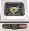 lowest price gas cooker kitchen appliance stainless steel panel gas cooker heat powered stove fan