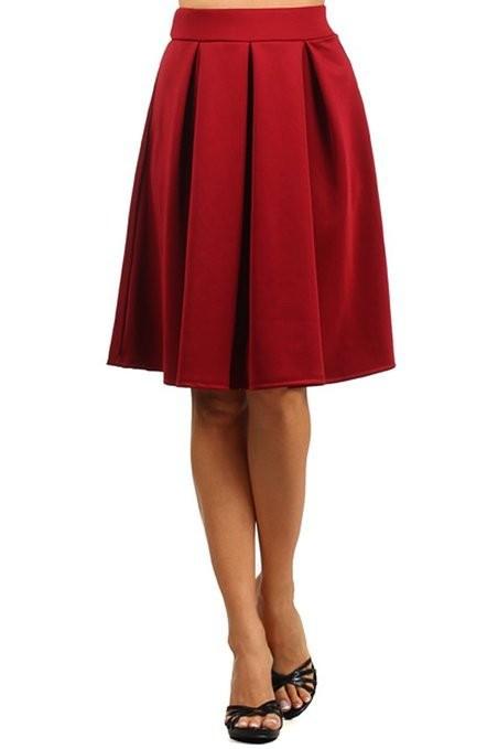 c373602dd Get Quotations · Summer Women High Waist Full A Line Pleated Swing Plus  Size Midi Skirt