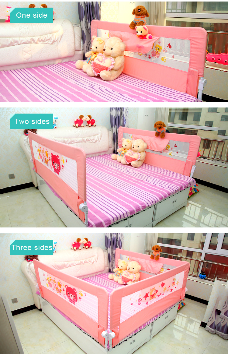 Baby Safety Folding Bed Side Guard Rail