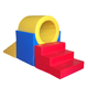 kids equipment color soft play wholesale for Preschool