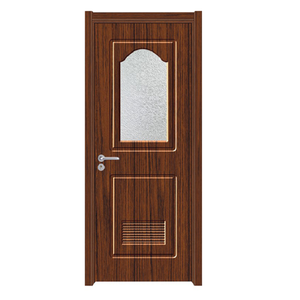 Bathroom PVC single shutter door design prices