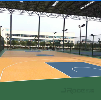 Multi-purpose Indoor Basketball Court Flooring - Buy Portable ...