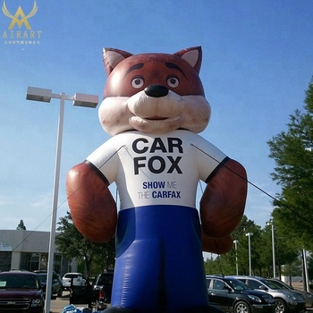 2.3m inflatable fox costume for adults party event & 2.3m Inflatable Fox Costume For Adults Party Event - Buy Vivid ...