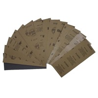 9''x3.6'' 996A Waterproof sanded paper sandpaper abrasive sand paper for polishing and grinding 60-10000grit