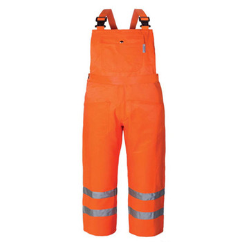 Wholesale hi-viz safety overall in orange