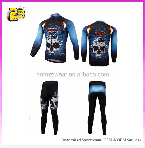 High quality children cycling clothes customized Kids cycling jersey set wholesale team printed riding jersey