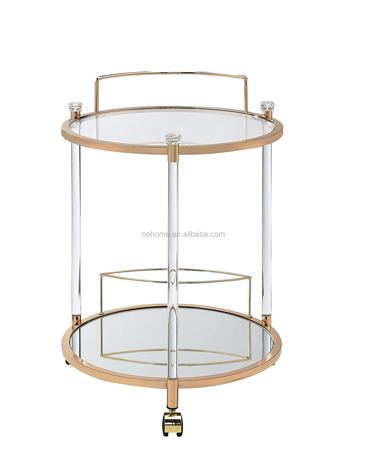 Champagne Gold Metal And White Marble Bar Cart Hotel Tea Trolley With Wheels Hotel Furniture High Quality Gold Metal Bar Cart Buy Bar Cart Serving Trolley Cart Outdoor Trolley Cart Product On Alibaba Com