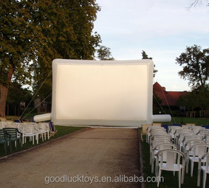 2018 inflatable cinema/movie screen, indoor/outdoor air screen inflatable