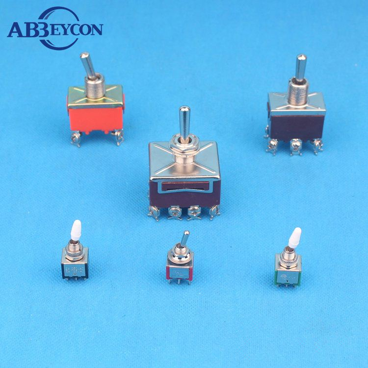 6v~250v Different Types Of Toggle Switches - Buy Different Types Of ...