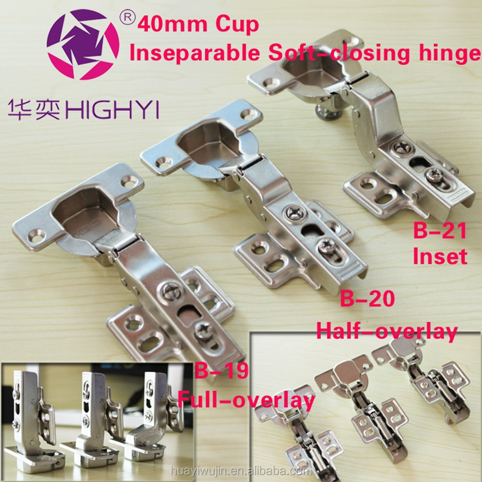 40(mm) Cup Hinges Hydraulic Soft Closing Hydraulic Fixed Pin Door ...
