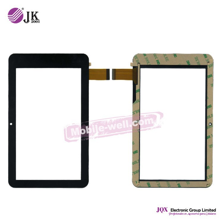 [JQX] Hot selling touch screen digitizer flex code MT70250 for Ployer MoMo7 Speed Dual Core tablet pc