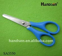 "4-3/4"" Cheapest round handle student small scissors SA3550"