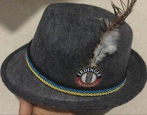 cbf77251f Party Festival Custom logo Swiss German Oktoberfest Bavarian Alpine felt hat