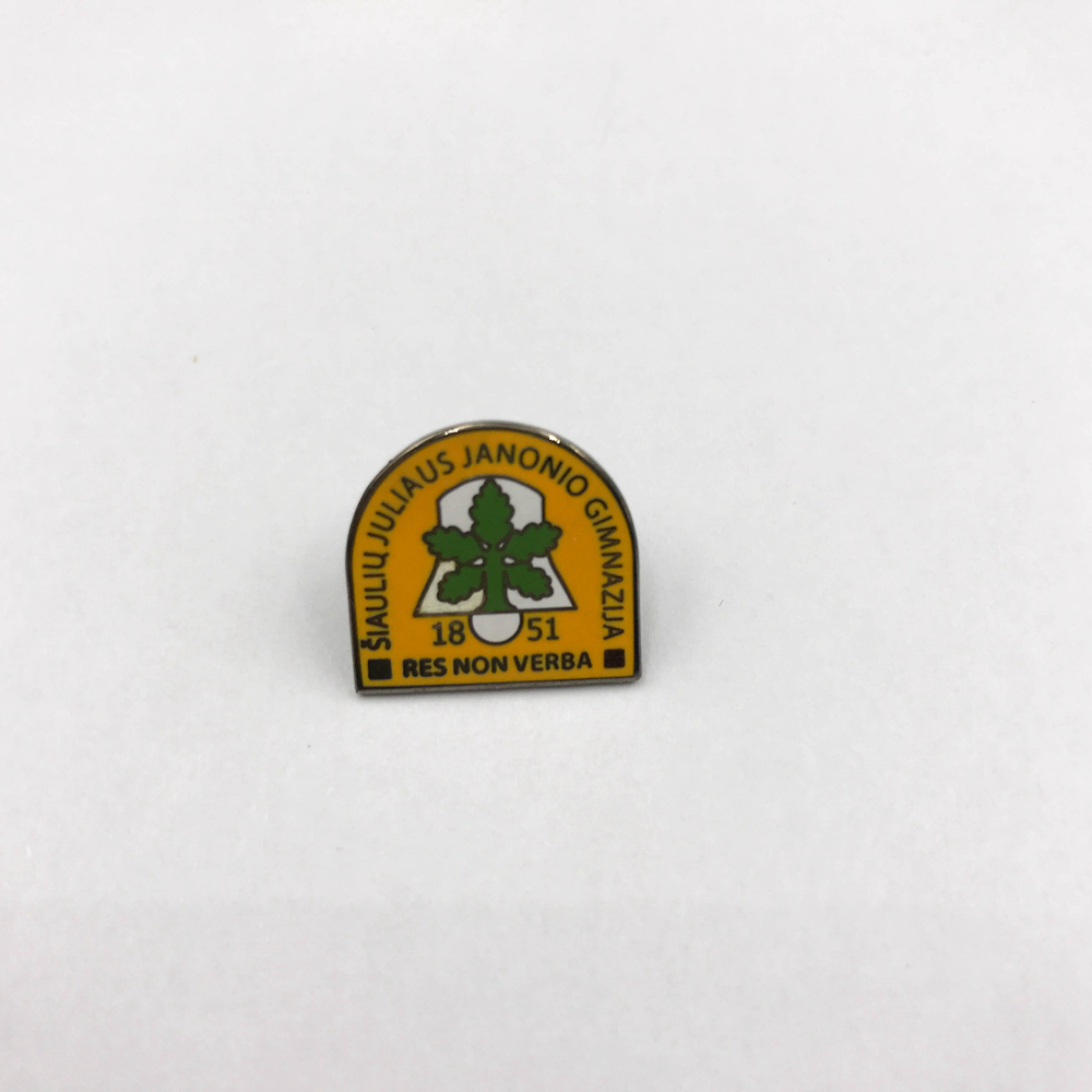 custom metal enamel lapel pins badge for clothing/ quality label pins / wholesale enamel pins