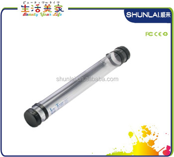 Clear Storage And Transport Tube Telescoping Document Tube