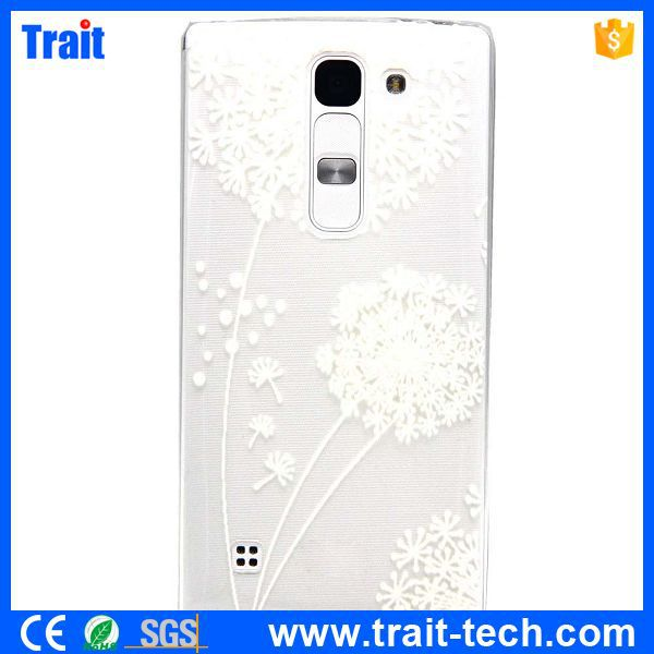 Colored Drawing Embossing Ultrathin TPU Case for LG Magna H502F H500F