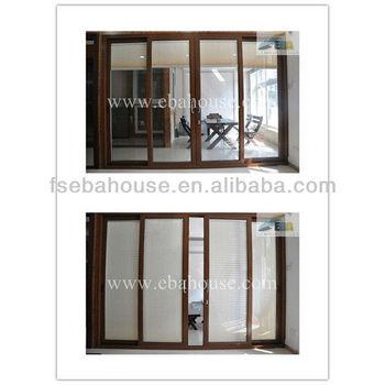 120series Heavy Sliding Door Office Partition Doors Aluminum Sliding