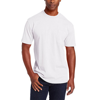 100% cotton white slim mens tshirts