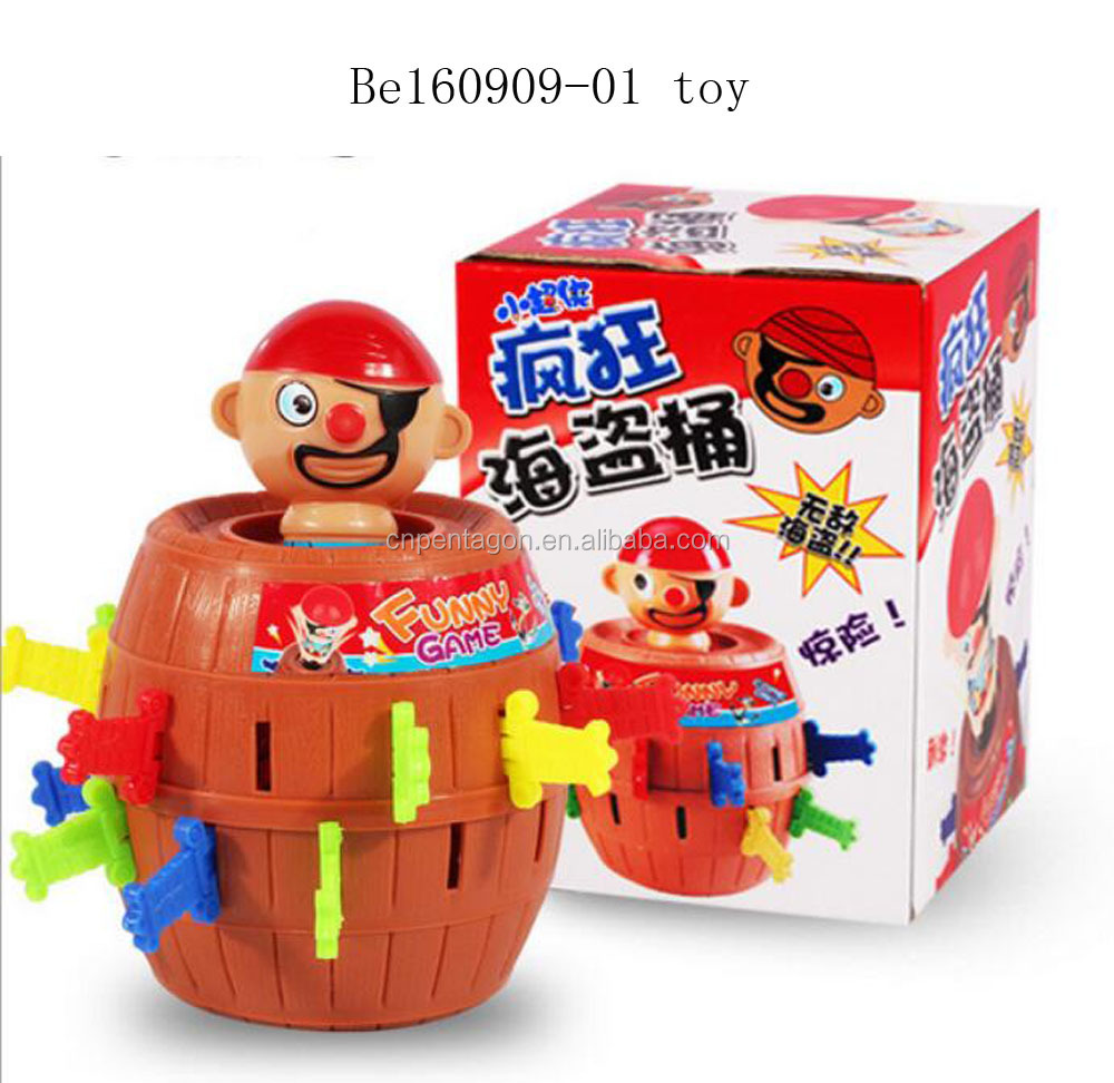 Wholesale New funny game adults kids pirate party toys