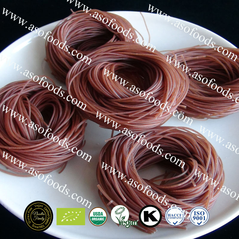 Organic Red Rice Noodles/vermicelli thai rice