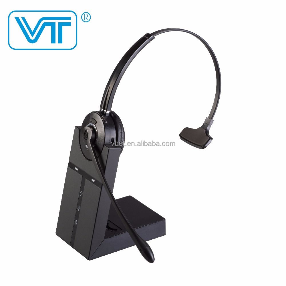 Wireless Single Ear Office Headset for IP Phone