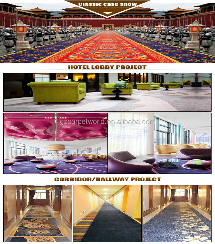 Customized design carpet flower for office