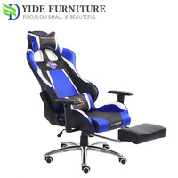 sleeping office double sports computer chair game with footrest