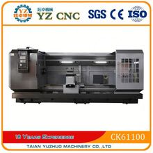 china large spindle bore slant bed and linear guide way cnc lathe machine prices