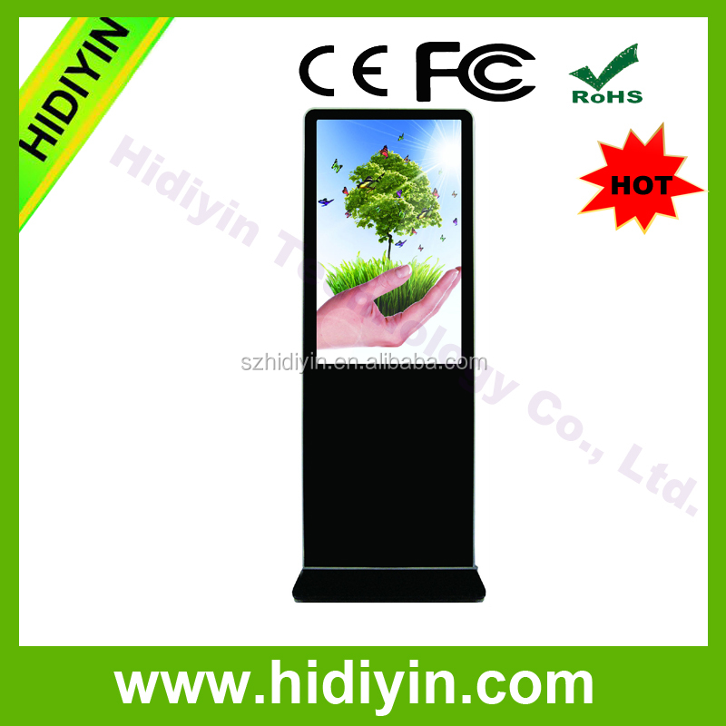 43inch High brightness 1000,1500, 2000, 2500 nits floor standing 1080P led backlight outdoor android LCD advertising player