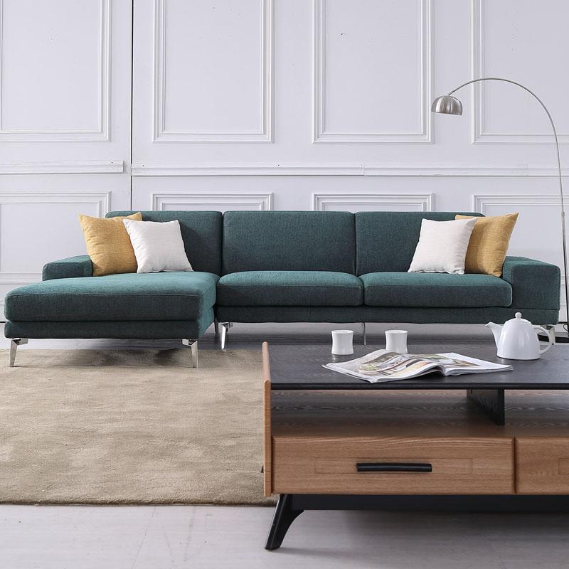 New Green Fabric Sofa Modern Style Living Room Furniture - Buy Green  Sofa,Living Room Furniture,Fabric Sofa Product on Alibaba.com