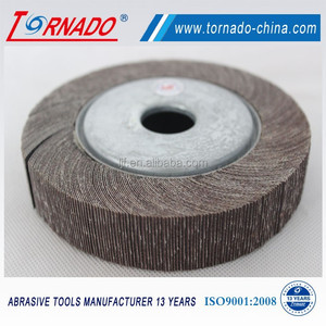 high quality flap wheel with abrasive