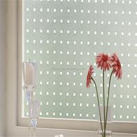 New glass decorative self adhesive window static cling film