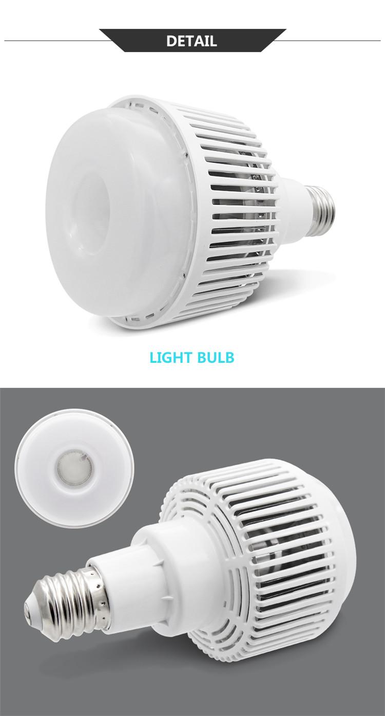 E40 with diffuser 50W 80W 100W LED Lihgt Bulbs