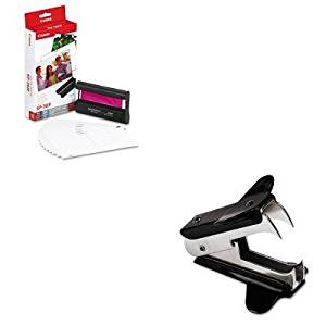 KITCNM7737A001UNV00700 - Value Kit - Canon 7737A001 Color Ink Cartridge amp;amp; Glossy Photo Paper Kit (CNM7737A001) and Universal Jaw Style Staple Remover (UNV00700)