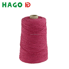 Open end recycled 100% spun polyester yarn manufacturer in china