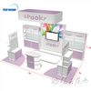 Detian Offer 3x6 exhibition booth product display modular exhibition booth
