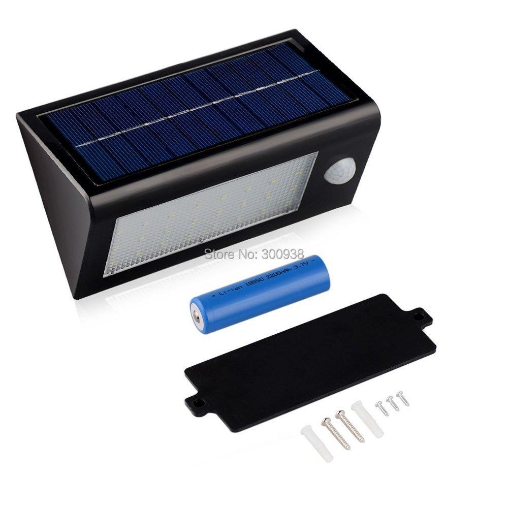 Newest 32 Leds Solar Power Motion Sensor Light Wall Lamp