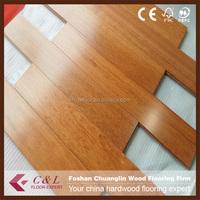 Foshan fatory Light colour kempas hardwood flooring