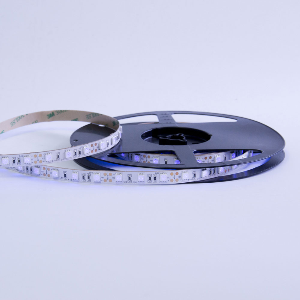 Manufacture SMD flexible 5050 led strip 300leds <strong>rgb</strong> IP20 with high brightness