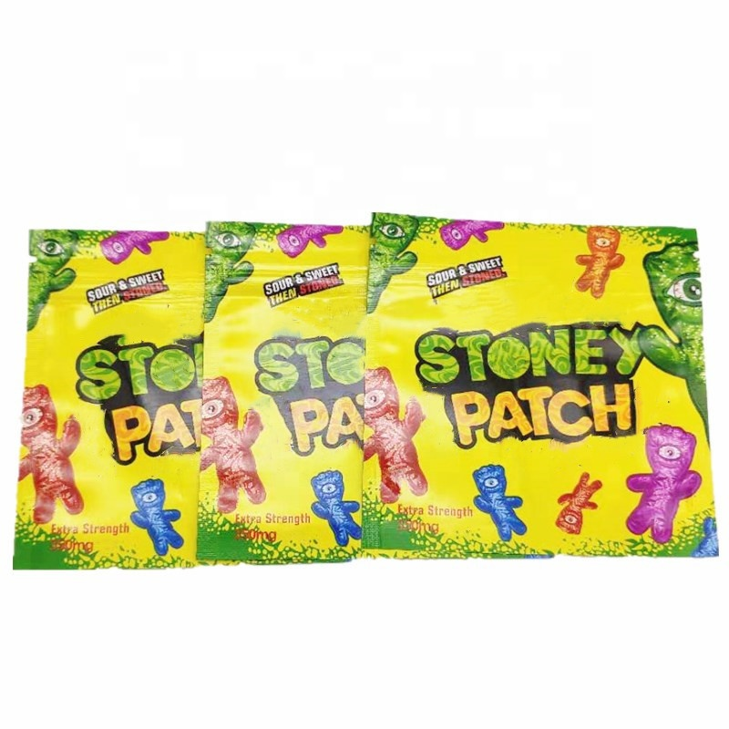 vape pen carts package childproof zip rock bags NEWEST STONEY PATCH PACKAGE  vape carts sugar packaging STONEY PATCH BAG