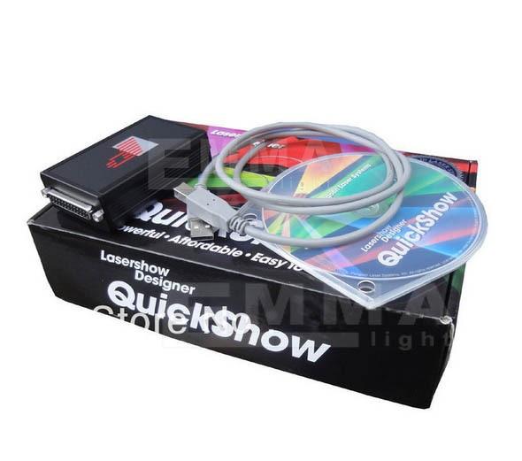 Pangolin laser light sofeware quickshow/ilda laser light software