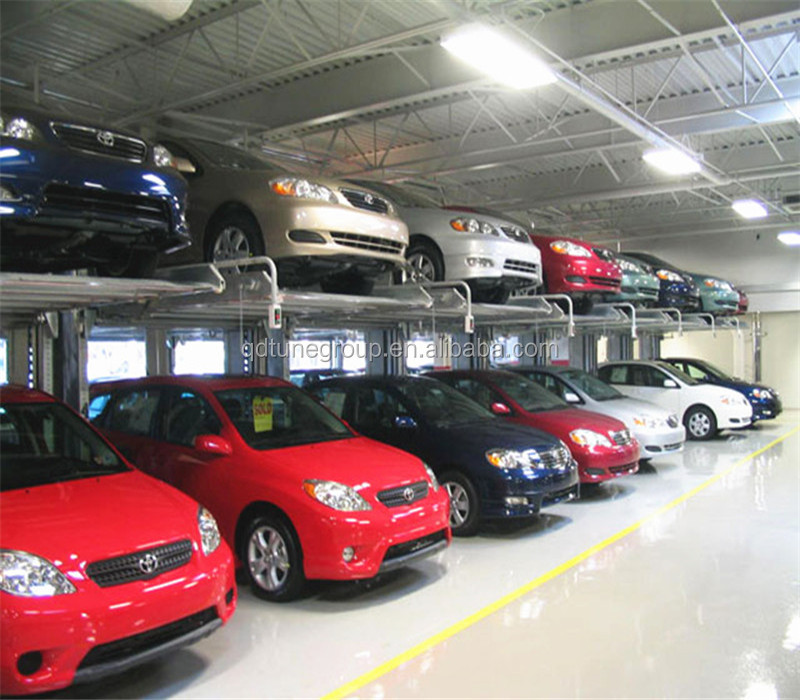 Commercial Smart Public Car Parking Garage With PLC Control