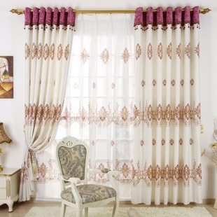 2016 Luxury New Arrival Window Curtains For living Room Blackout Curtains Window Treatment Luxry Curtain Wedding Decor