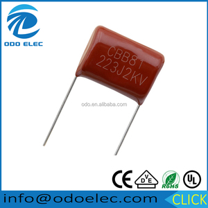 high voltage capacitor cbb81 223J 2KV capacitor for motor en60252 from China