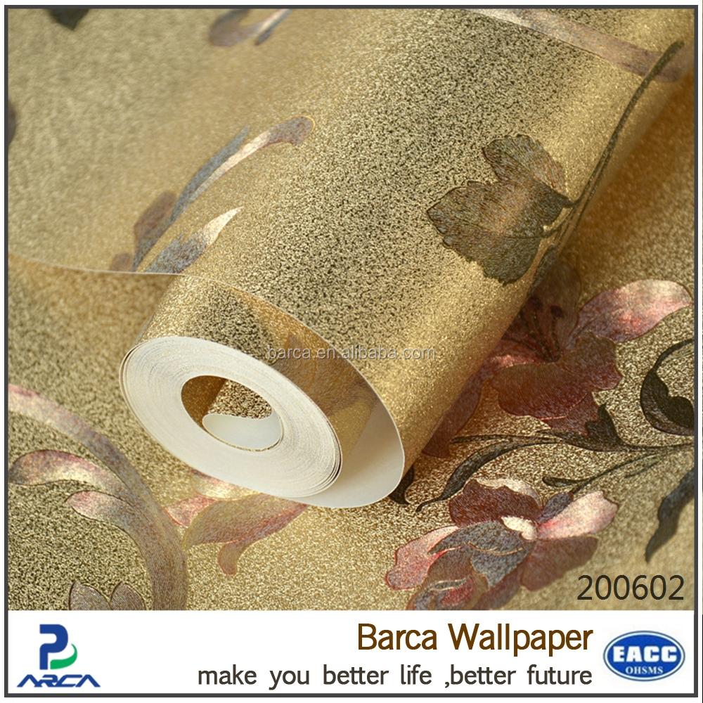 dekorativen metallischen silber goldfolie tapete glitter. Black Bedroom Furniture Sets. Home Design Ideas