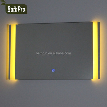 Illuminated Feature Backlit Led Light Mirror Touch Sensor Switch