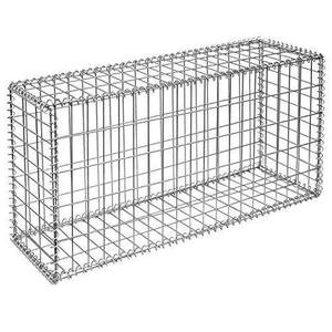 High Quality Welded Galvanized Kenya 2x1x1m Gabion Baskets